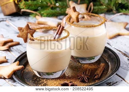 Eggnog Christmas Cocktail