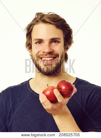 Smile And Fruit