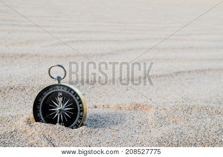 Object In The Dry Desert