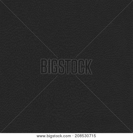 Leather texture background. Natural Skin Detailed pattern. Vector