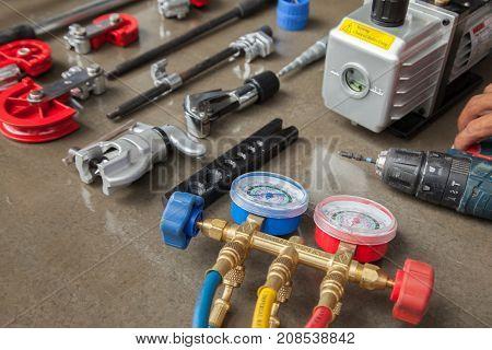manometers measuring equipment for filling air conditionersgauges.