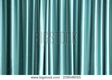 Beautiful colorful curtains
