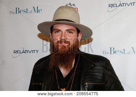 NASHVILLE, TN-OCT 09: Singer/songwriter Tim Montana attends