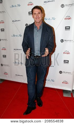 Author Nicholas Sparks attends the premiere screening and concert event for