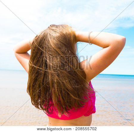 Holiday Starts Sunny Beach