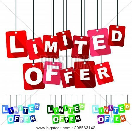 limited offer sign limited offer deisng limited offer illustration limited offer banner limited offer element limited offer eps10 limited offer vector limited offer