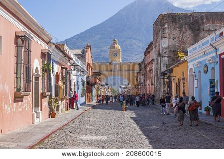 Antigua, Guatemala Santa Catalina Arch
