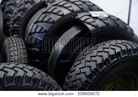 Bullet-proof Tires For Military And Civilian Armored Vehicles