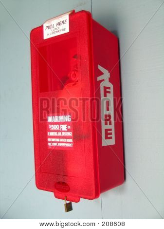 Fire Extinguisher Side View