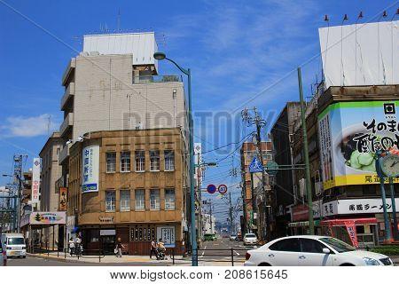 View Of Onomichi City