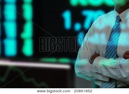 Businessman Stock Exchange