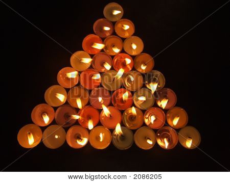 Triangle Of Candles
