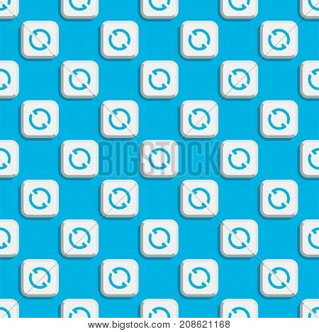 Angle 360 degrees web seamless pattern shape mark vector illustration. Geometry math signs badge full information symbols. Full complete rotation arrow virtual view app.