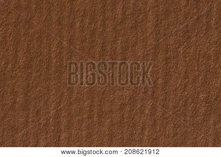 Brown craft paper texture with horizontal stripes for background. High resolution photo.