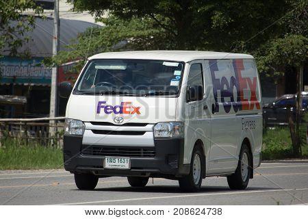 Fedex Logistic Van.