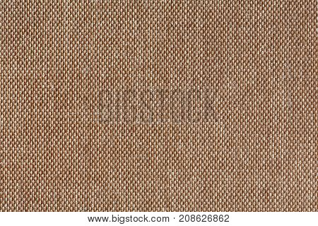 Texture canvas brown background. High resolution photo.