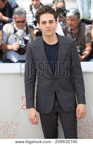 CANNES, FRANCE - MAY 19: Xavier Dolan attends the 'It's Only The End Of The World (Juste La Fin Du Monde)'  photocall during the 69th annual Cannes Film Festival at the Palais des Festivals