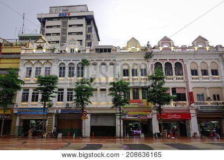 Old Buildings In Kuala Lumpur, Malaysia