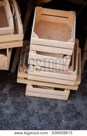 Wooden Crate Box For Sale