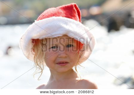Santa Baby On Vacation