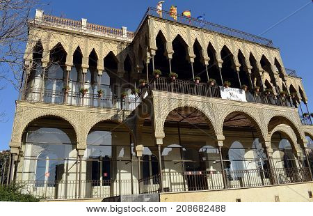 The House of the Heights is a building of style neoárabe, Barcelona was constructed in the year 1890.