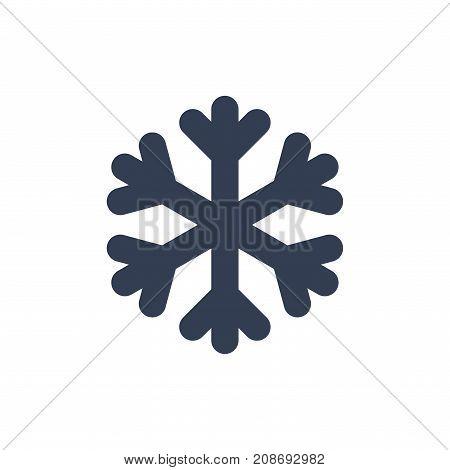 Christmas Snowflake Isolated Illustration