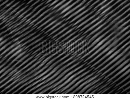 Abstract black and white striped cloth grunge background - texture with stripes. Wallpaper