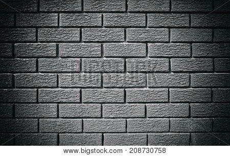 Wintage gray brick wall