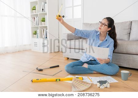 Beautiful Confident Female House Interior Designer