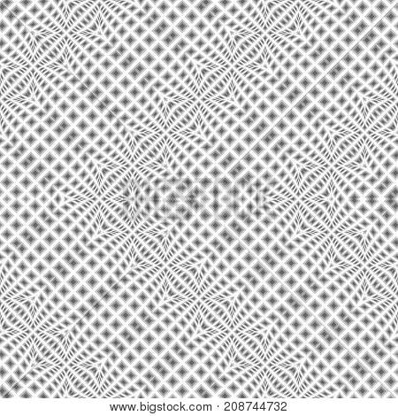 Design Seamless Warped Zigzag Pattern