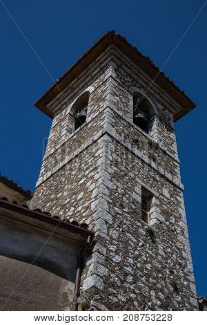 Bell Tower with a Bell for each façade