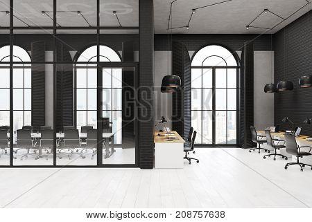 Black Brick Office, Meeting Room