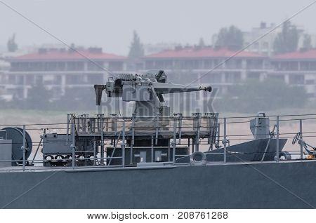 NAVAL GUN - Armament of a modern warship