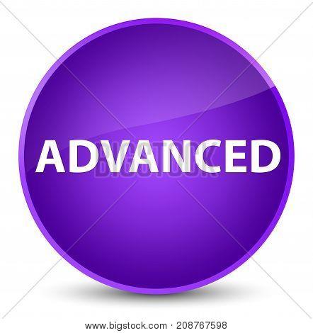 Advanced Elegant Purple Round Button