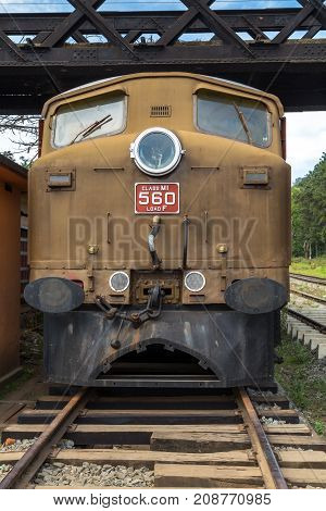 Old Locomotive Railway Station Railroad Journey