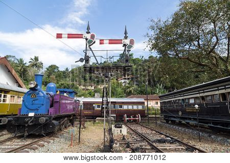 Old Train Railway Station