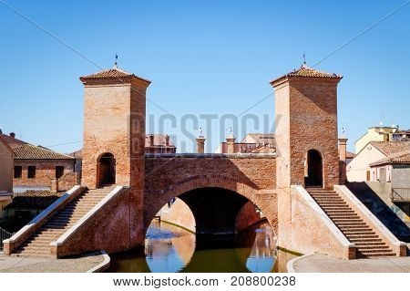 Comacchio, Italy. The Little Venice Of Emilia Romagna
