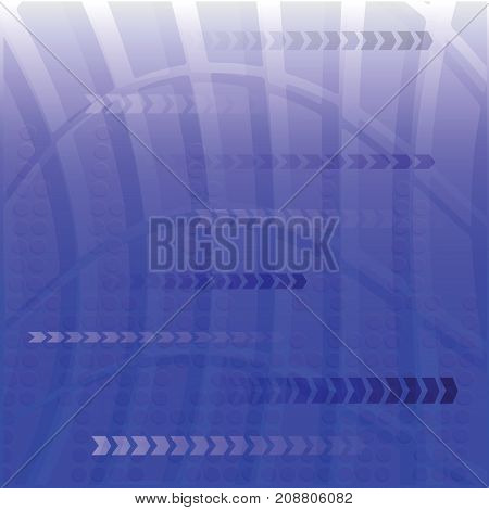 colorful illustration with blue digital background for your design