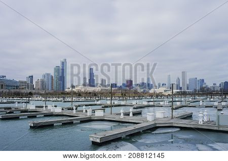 The Beautiful Dusable Harbor