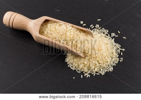 Rice In Scoop