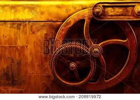 Background Vintage Steampunk