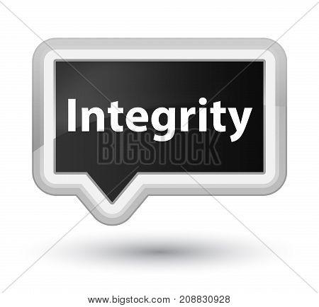 Integrity Prime Black Banner Button