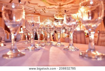 Elements of decor for the wedding ceremony