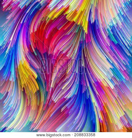 Conceptual Painter Palette