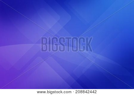 Abstract Dark Blue And Dark Purple Background Of Abstract Curved Rectangle Line Overlay. Basic Dark