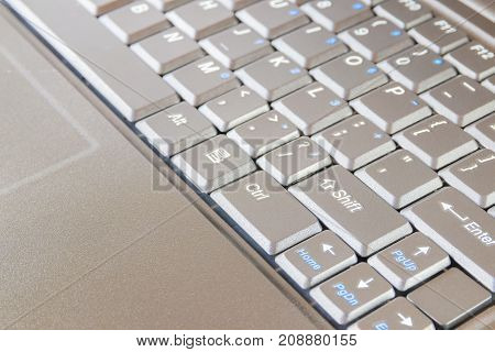 computer keyboard with copy space add text ( high definition image )