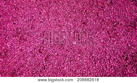 Pink gravel rocks stones slag texture background