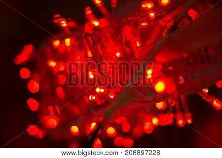 abstract Background electricity Color. Lights Bokeh  electricity