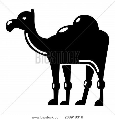 Camel icon. Simple illustration of camel vector icon for web