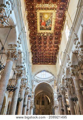 Basilica Di Santa Croce Of Lecce. Puglia, Italy.